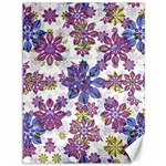 Stylized Floral Ornate Pattern Canvas 36  x 48   48 x36 Canvas - 1