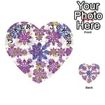 Stylized Floral Ornate Pattern Playing Cards 54 (Heart)  Front - Joker1