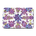 Stylized Floral Ornate Pattern Small Doormat  24 x16 Door Mat - 1