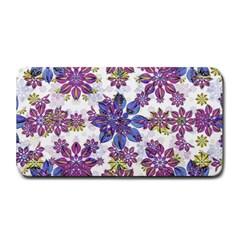Stylized Floral Ornate Pattern Medium Bar Mats