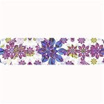 Stylized Floral Ornate Pattern Large Bar Mats 34 x9.03 Bar Mat - 1