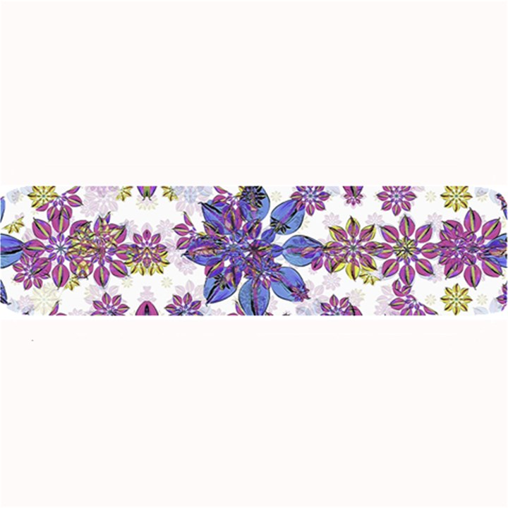 Stylized Floral Ornate Pattern Large Bar Mats