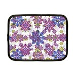 Stylized Floral Ornate Pattern Netbook Case (Small)  Front