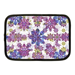 Stylized Floral Ornate Pattern Netbook Case (medium)