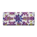 Stylized Floral Ornate Pattern Hand Towel Front