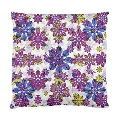 Stylized Floral Ornate Pattern Standard Cushion Case (one Side)