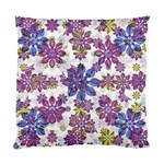 Stylized Floral Ornate Pattern Standard Cushion Case (Two Sides) Back