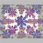Stylized Floral Ornate Pattern Mini Canvas 7  x 5  7  x 5  x 0.875  Stretched Canvas