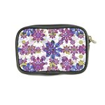 Stylized Floral Ornate Pattern Coin Purse Back