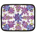 Stylized Floral Ornate Pattern Netbook Case (XXL)  Front