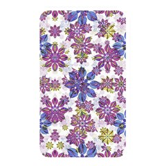 Stylized Floral Ornate Pattern Memory Card Reader