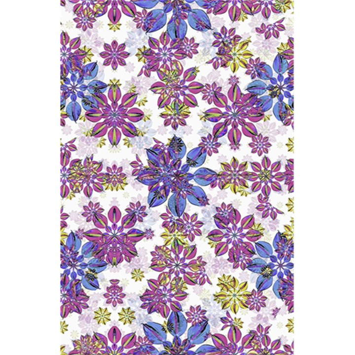 Stylized Floral Ornate Pattern 5.5  x 8.5  Notebooks
