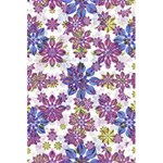 Stylized Floral Ornate Pattern 5.5  x 8.5  Notebooks Back Cover Inside