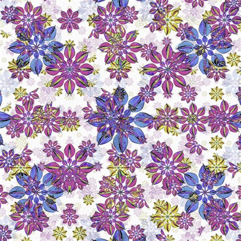 Stylized Floral Ornate Pattern Magic Photo Cubes