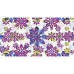 Stylized Floral Ornate Pattern Magic Photo Cubes Long Side 3