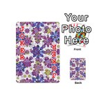 Stylized Floral Ornate Pattern Playing Cards 54 (Mini)  Front - Joker2