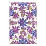 Stylized Floral Ornate Pattern Shower Curtain 48  x 72  (Small)  42.18 x64.8 Curtain