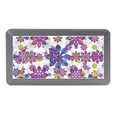 Stylized Floral Ornate Pattern Memory Card Reader (mini)