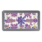 Stylized Floral Ornate Pattern Memory Card Reader (Mini) Front