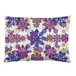 Stylized Floral Ornate Pattern Pillow Case (Two Sides) Back