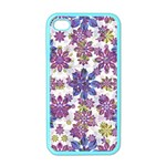 Stylized Floral Ornate Pattern Apple iPhone 4 Case (Color) Front