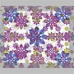 Stylized Floral Ornate Pattern Deluxe Canvas 20  x 16   20  x 16  x 1.5  Stretched Canvas
