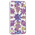 Stylized Floral Ornate Pattern Apple iPhone 4/4s Seamless Case (White) Front