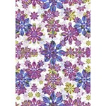 Stylized Floral Ornate Pattern Heart Bottom 3D Greeting Card (7x5) Inside