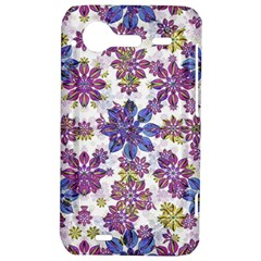 Stylized Floral Ornate Pattern HTC Incredible S Hardshell Case