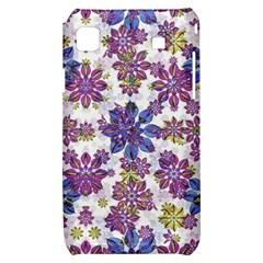 Stylized Floral Ornate Pattern Samsung Galaxy S i9000 Hardshell Case