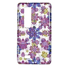 Stylized Floral Ornate Pattern LG Optimus Thrill 4G P925