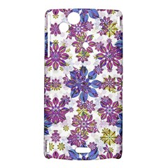 Stylized Floral Ornate Pattern Sony Xperia Arc