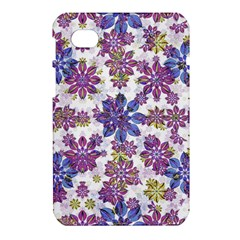 Stylized Floral Ornate Pattern Samsung Galaxy Tab 7  P1000 Hardshell Case