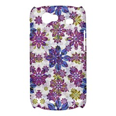 Stylized Floral Ornate Pattern Samsung Galaxy Nexus S i9020 Hardshell Case