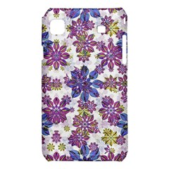 Stylized Floral Ornate Pattern Samsung Galaxy S i9008 Hardshell Case