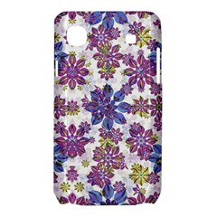 Stylized Floral Ornate Pattern Samsung Galaxy SL i9003 Hardshell Case