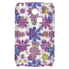 Stylized Floral Ornate Pattern Samsung S3350 Hardshell Case