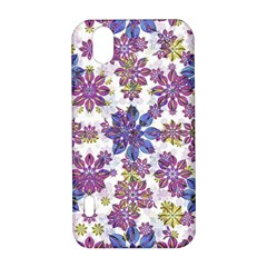 Stylized Floral Ornate Pattern LG Optimus P970