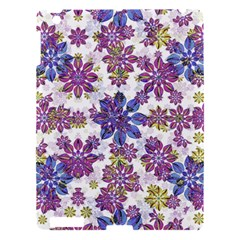 Stylized Floral Ornate Pattern Apple iPad 3/4 Hardshell Case