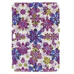 Stylized Floral Ornate Pattern Samsung Galaxy Tab 8.9  P7300 Hardshell Case