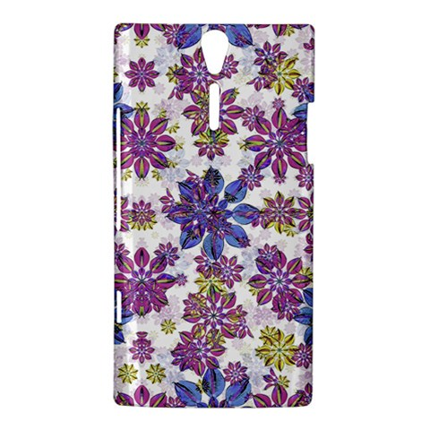 Stylized Floral Ornate Pattern Sony Xperia S