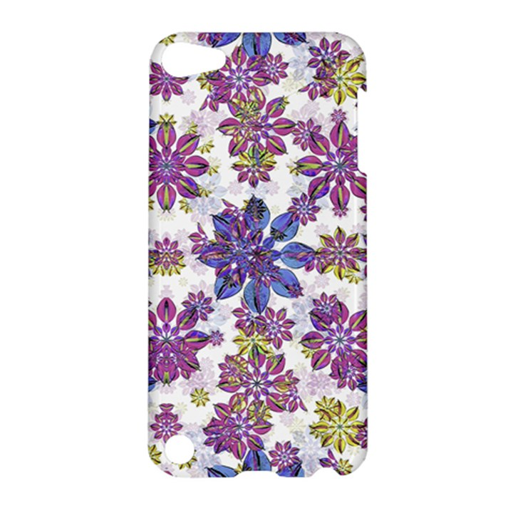 Stylized Floral Ornate Pattern Apple iPod Touch 5 Hardshell Case