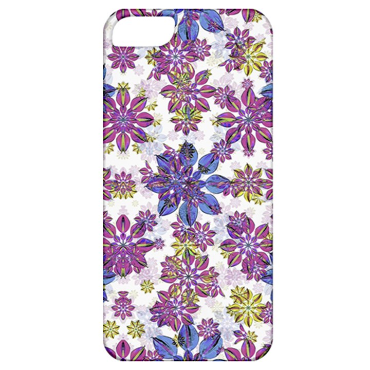 Stylized Floral Ornate Pattern Apple iPhone 5 Classic Hardshell Case