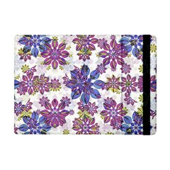 Stylized Floral Ornate Pattern Apple iPad Mini Flip Case