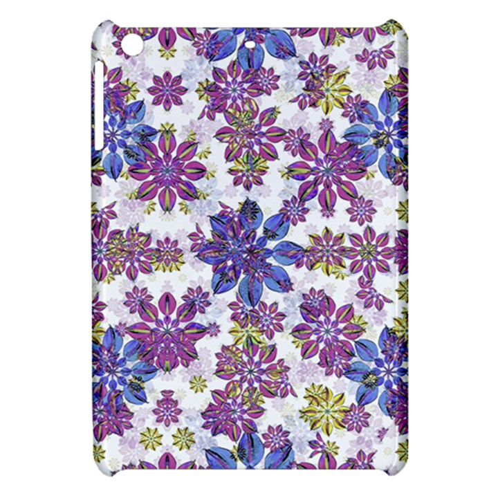 Stylized Floral Ornate Pattern Apple iPad Mini Hardshell Case