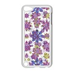 Stylized Floral Ornate Pattern Apple iPod Touch 5 Case (White) Front