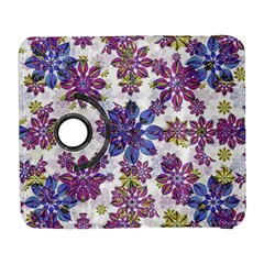 Stylized Floral Ornate Pattern Samsung Galaxy S  Iii Flip 360 Case