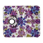 Stylized Floral Ornate Pattern Samsung Galaxy S  III Flip 360 Case Front