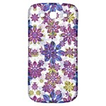 Stylized Floral Ornate Pattern Samsung Galaxy S3 S III Classic Hardshell Back Case Front
