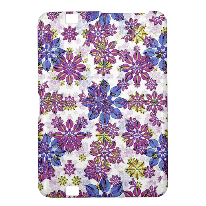 Stylized Floral Ornate Pattern Kindle Fire HD 8.9
